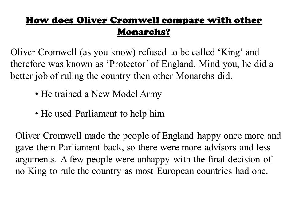 Cromwell: Facts and figures Born in Huntingdon in 1599, Cromwell became a Puritan while studying at Cambridge. When he became an MP and reached parlia