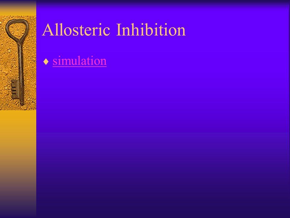 Allosteric Inhibition simulation