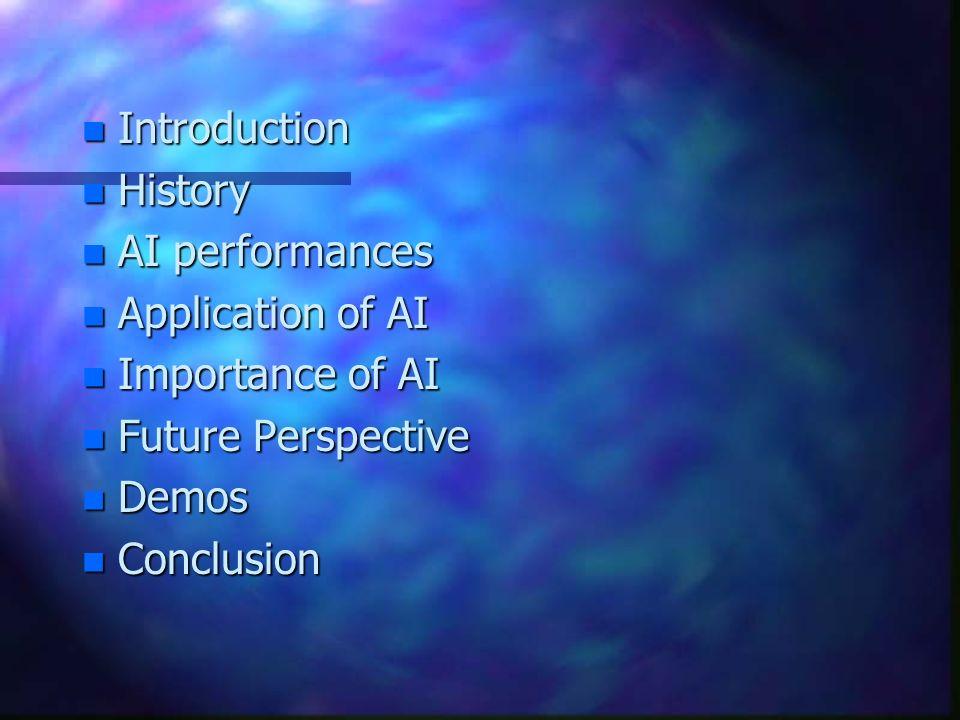 ARTIFICIAL INTELLIGENCE ( AI ) & APPLICATIONS A. S. MD. KAMRUZZAMAN