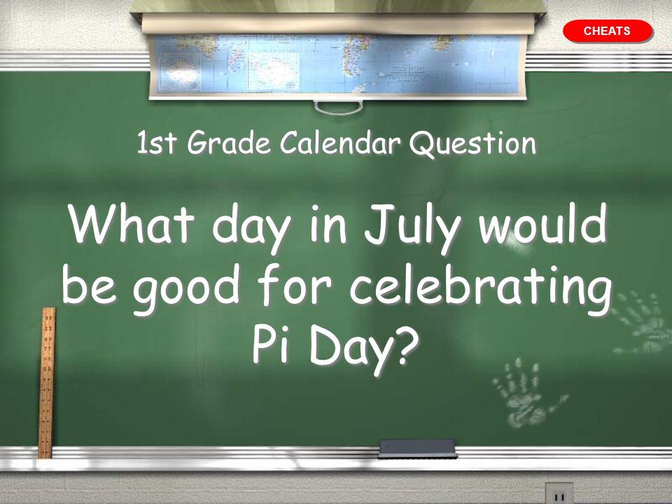 1st Grade Value Answer 22/7