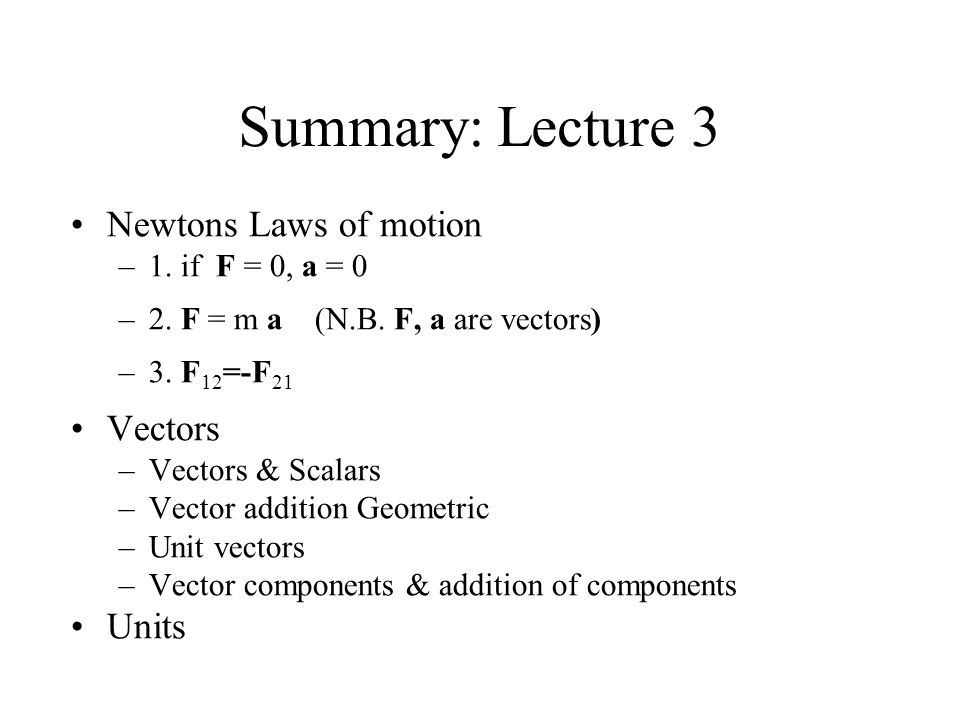 Electricity & Magnetism Lecture 4: Coulombs Law