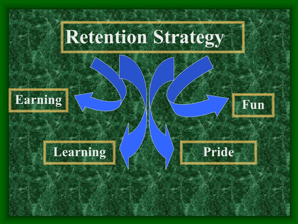 Retention Strategy Earning LearningPride Fun