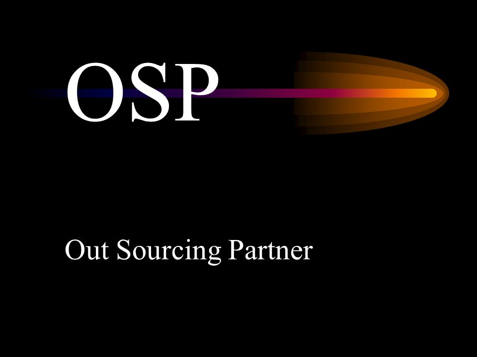 OSP Out Sourcing Partner