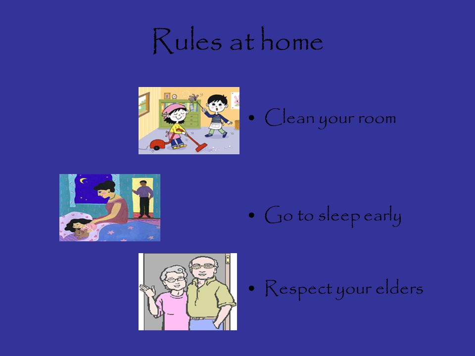 Ok, here we go! Lets look at some of the rules we can find at home.