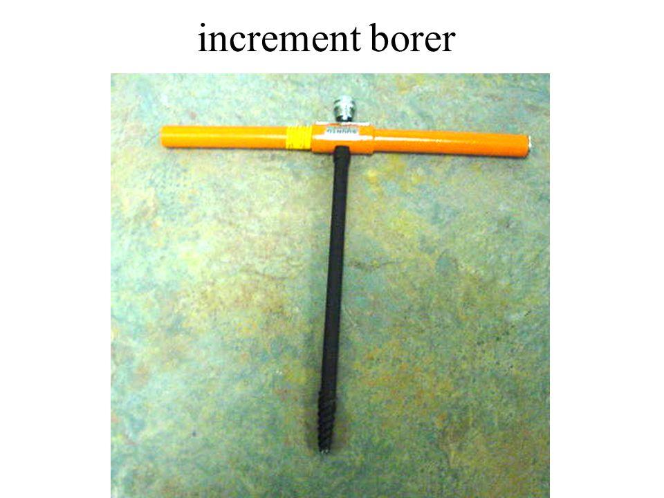 increment borer