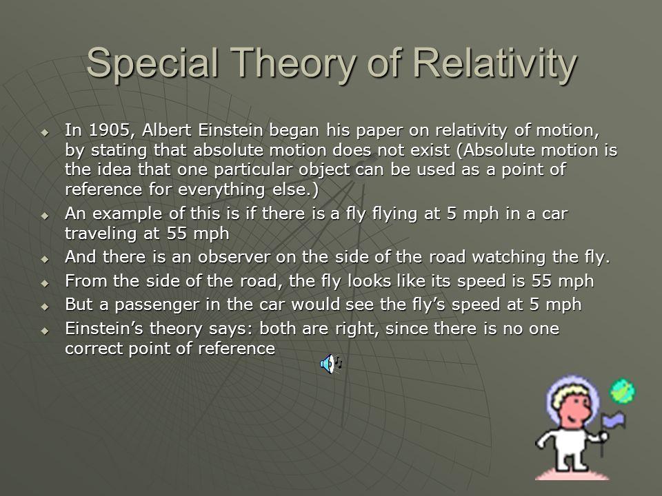 Einsteins Theory of Relativity Dan Boyette, Max Miller, and Gabe Seed Miller, and Gabe Seed