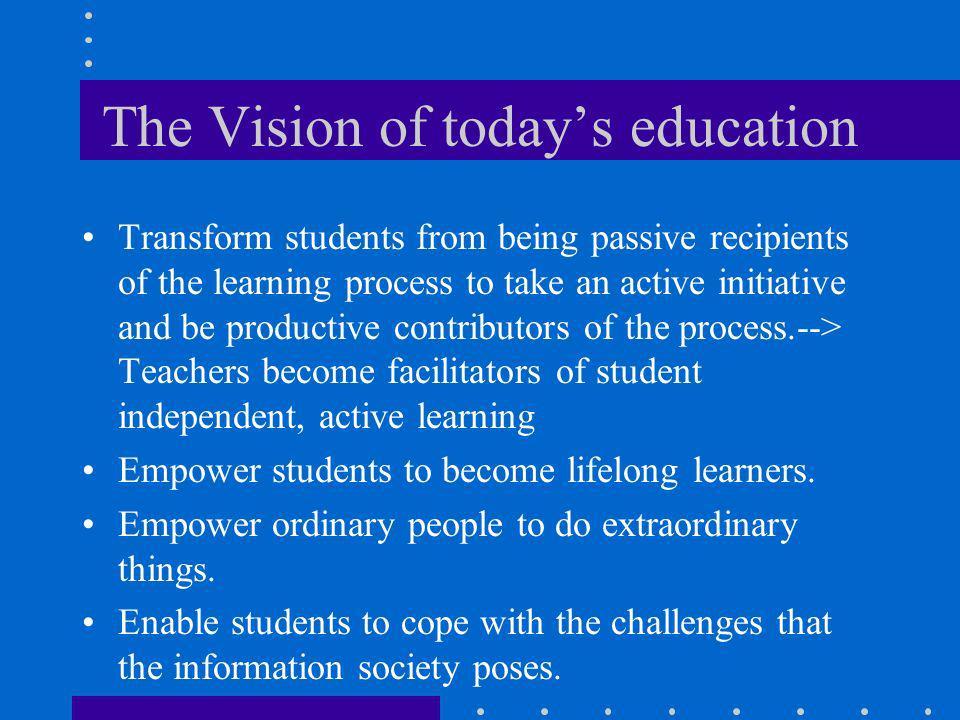Pedagogical Vision