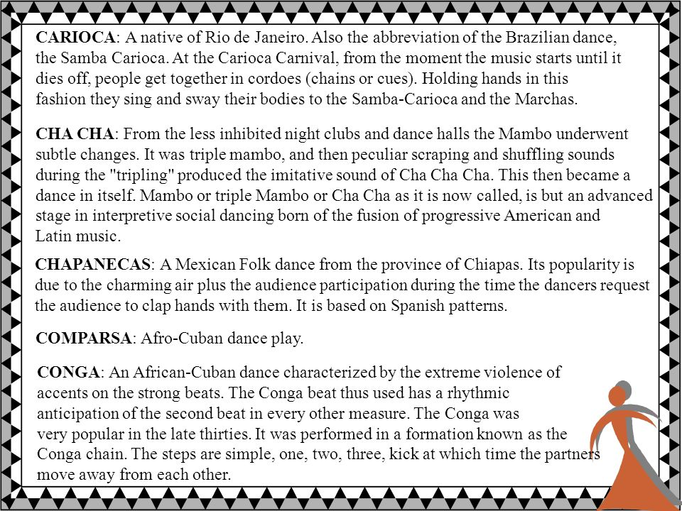 CORRIDOS: The musical ballads called the Corridos play a very important part in Latin American musical life.