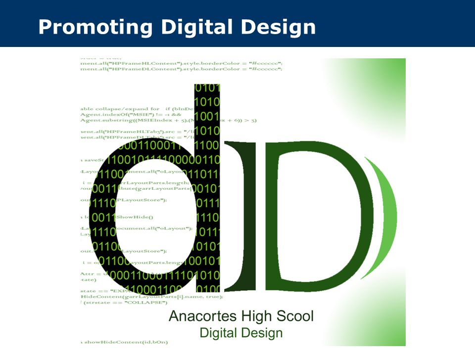 Promoting Digital Design
