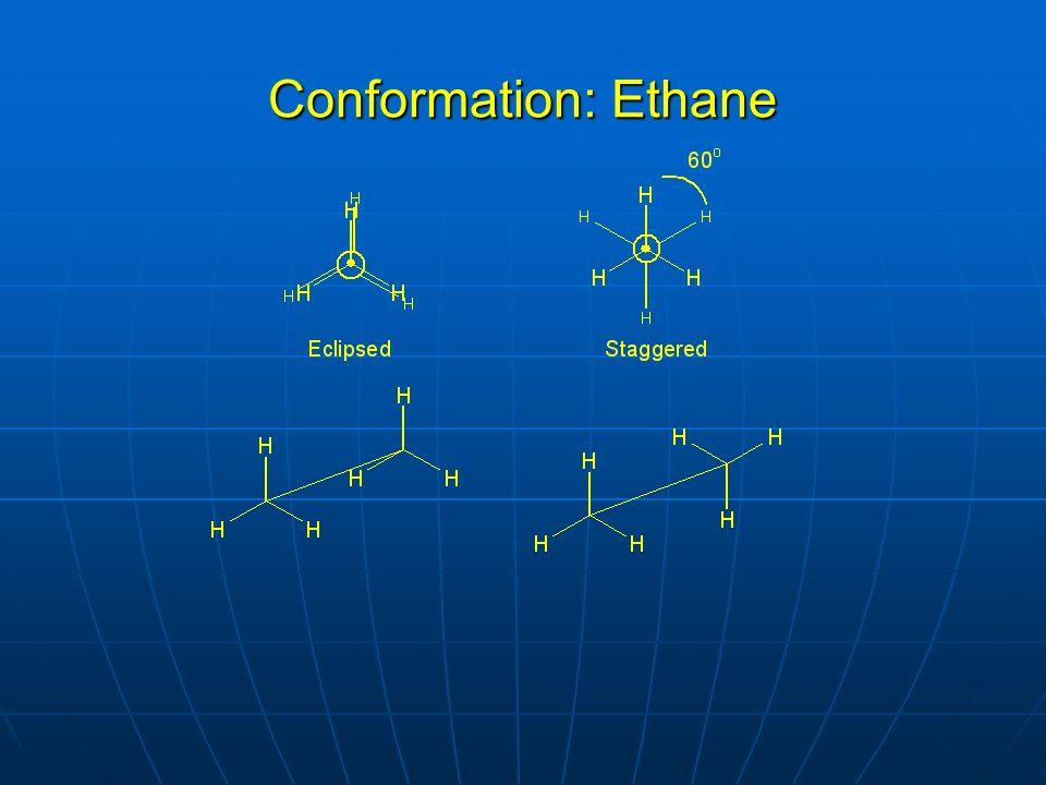 Conformation: Ethane