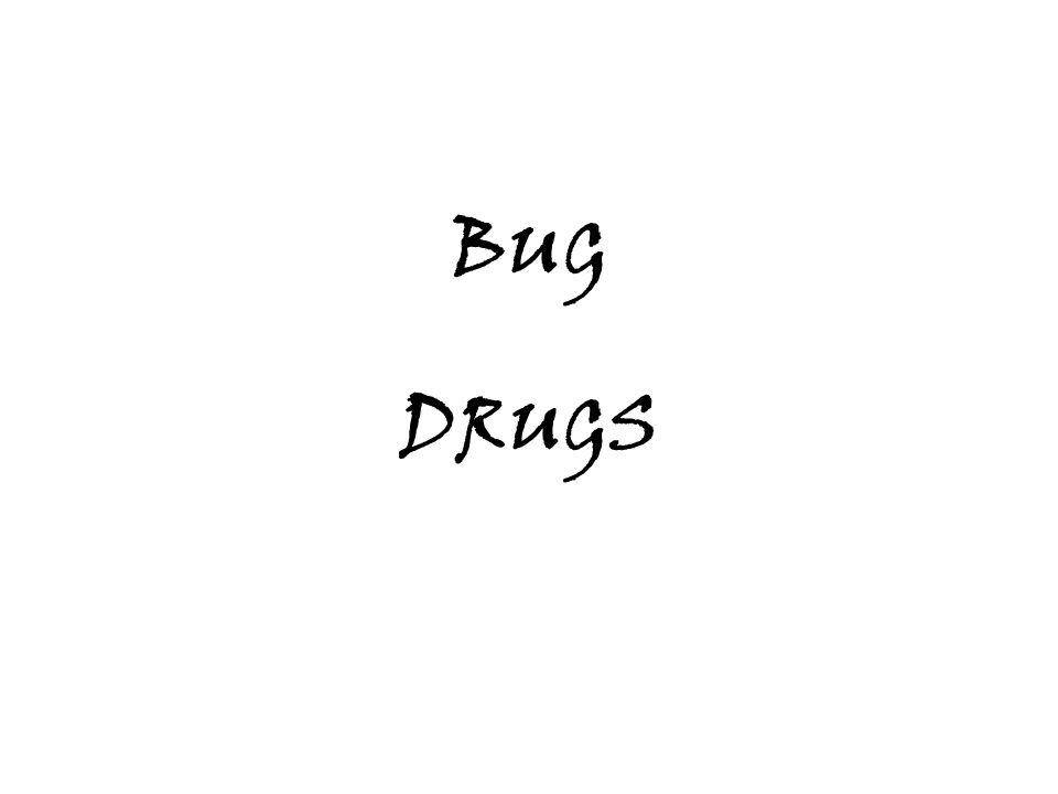 MOPP (Mechlorethamine, Vincristine, Procarbazide, Prednisone) - Hodgkins Dz ABVD (Doxorubicin = Adriamycin, Bleomycin, Vinblastin, Dacarbazine) - Hodkins Dz BACOP (Bleo, Adria, Cyclophosphamide, Vincristine = Oncovin, Prednisone) - NHL, Thyroid PVB (Cisplatin, Vinblastin, Bleo) - Testicular CMF (Cyclophos, Methotrex, 5FU) - Breast DRUG COMBINATIONS