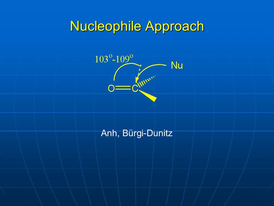 Nucleophile Approach Anh, Bürgi-Dunitz