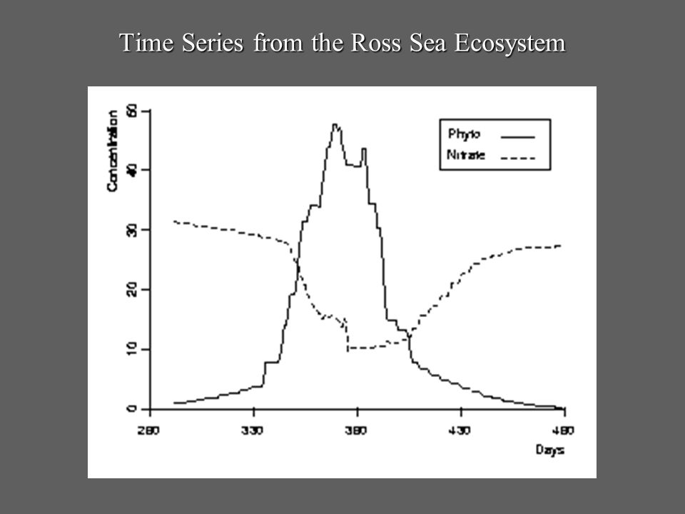 Time Series from the Ross Sea Ecosystem