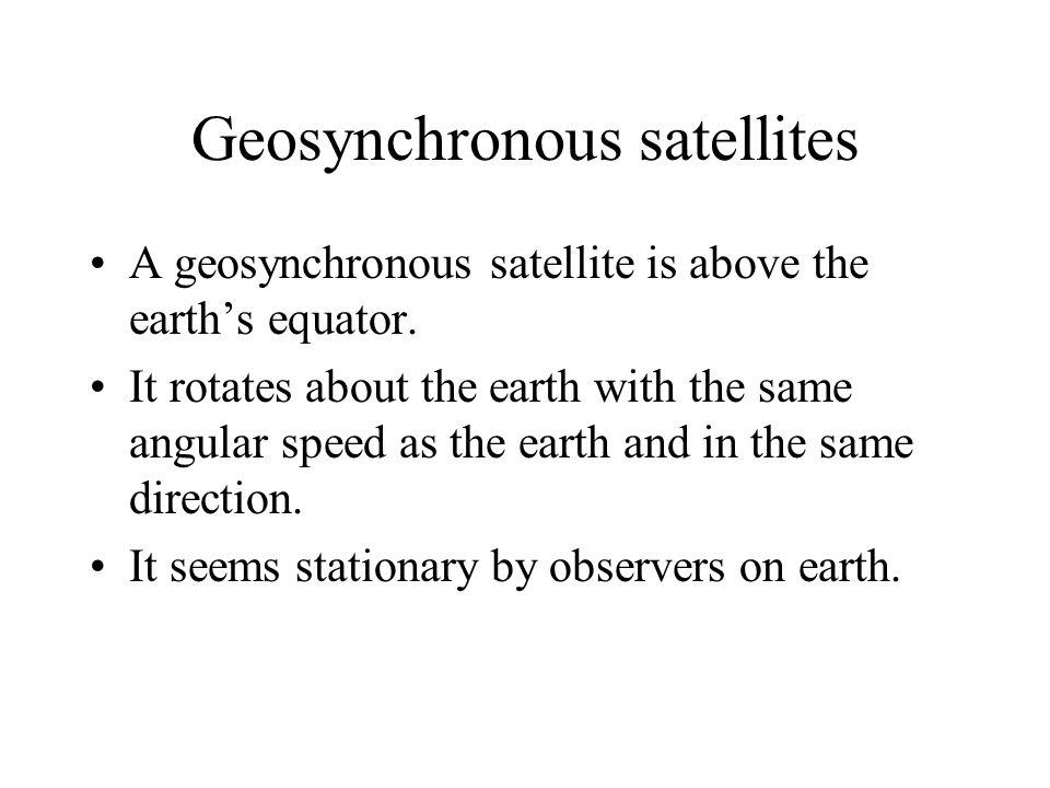Satellites Natural satellites – e.g. moon. Artificial satellites – e.g. communication satellites, weather satellites. http://weather.yahoo.com/graphic