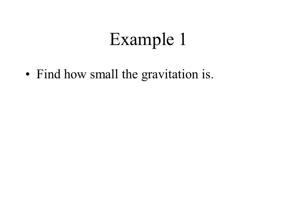 Newtons Law of Gravitation Every particle of matter attracts every other particle with a force whose magnitude is m1m1 m2m2 F F r G is a universal con