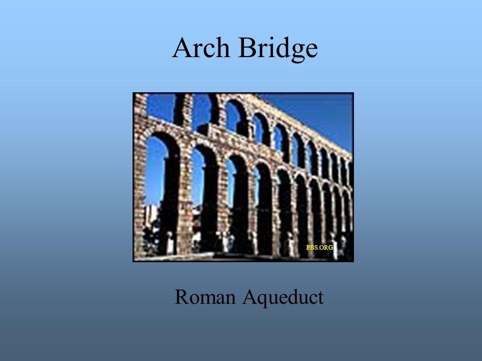 Arch Bridge Roman Aqueduct PBS.ORG