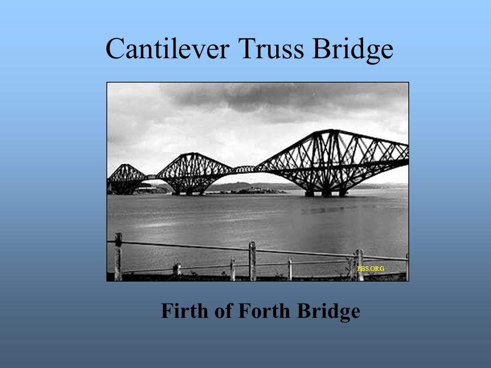 Cantilever Truss Bridge PBS.ORG Firth of Forth Bridge
