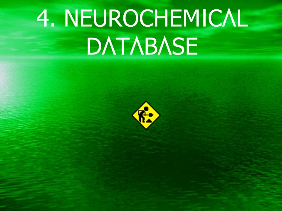 4. NEUROCHEMICAL DATABASE