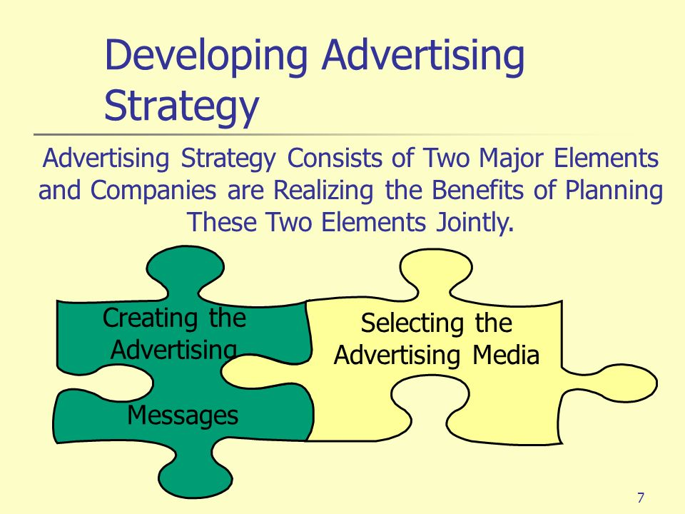 8 Plan a Message Strategy General Message to Be Communicated to Customers Develop a Message Focus on Customer Benefits Develop a Message Focus on Customer Benefits Creative Concept Big Idea Visualization or Phrase Combination of Both Creative Concept Big Idea Visualization or Phrase Combination of Both Advertising Appeals Meaningful Believable Distinctive Advertising Appeals Meaningful Believable Distinctive Developing Advertising Strategy: Creating Ad Messages