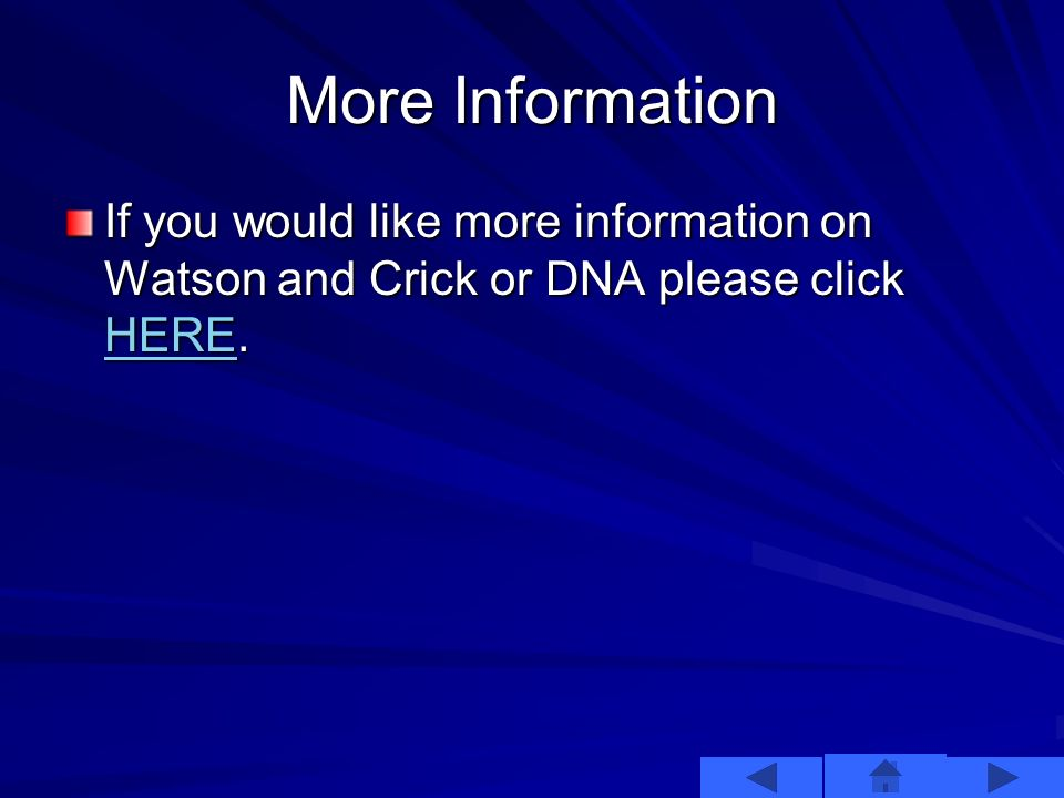 Watson and Crick Watson and Crick, along with Wilkins, were awarded the Noble Prize in 1962 for their efforts.