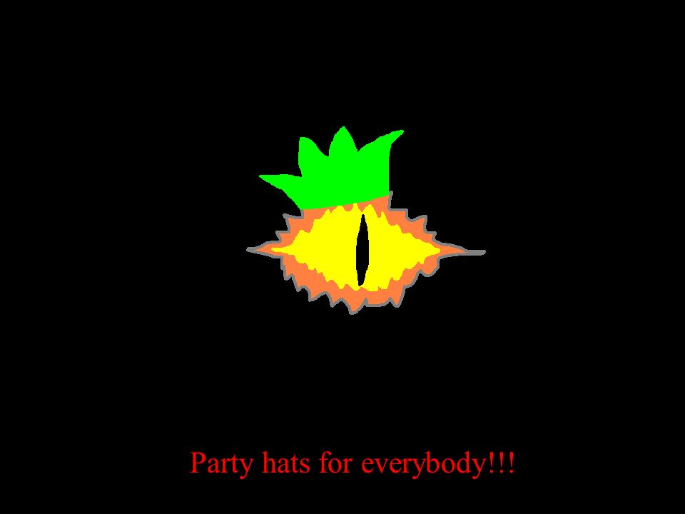 Party hats for everybody!!!