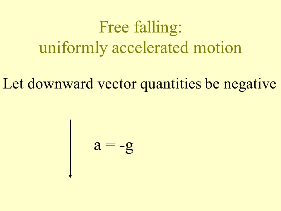 Uniformly accelerated motion Example 17