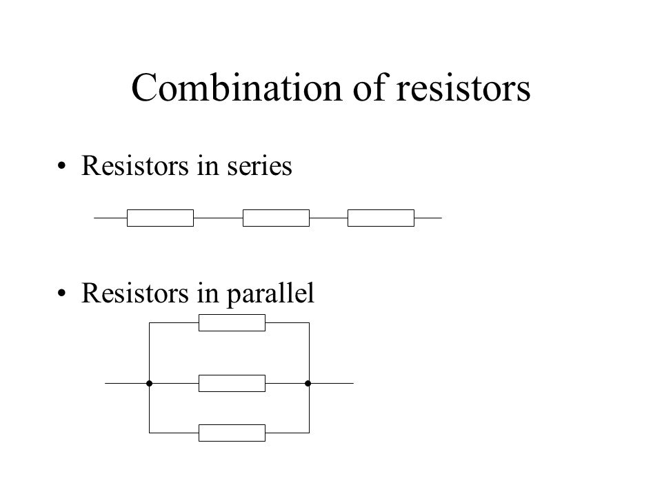 The internal resistance r of a battery We assume that the internal resistance is a constant. A r R II R -r