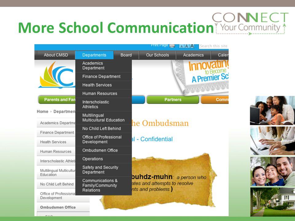 More School Communication