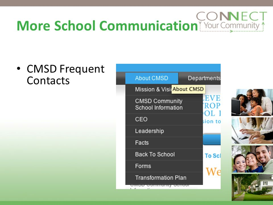 CMSD Frequent Contacts