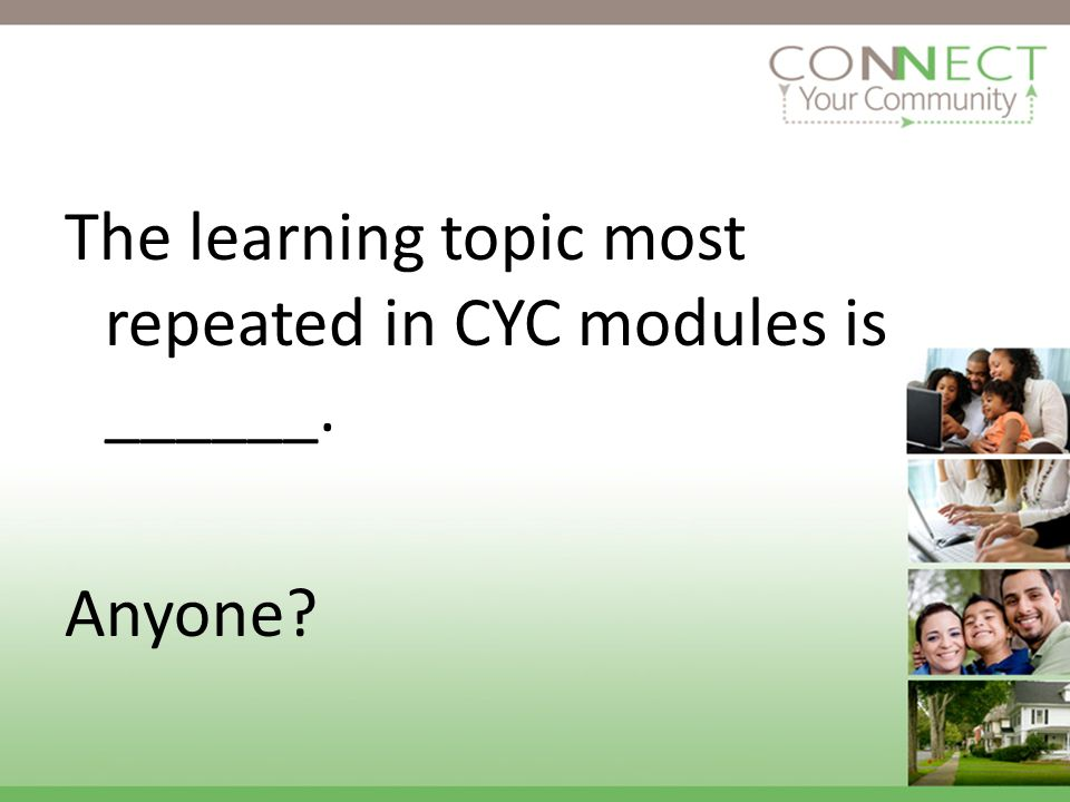 The issue most repeated in CYC modules is SEARCH. Why?