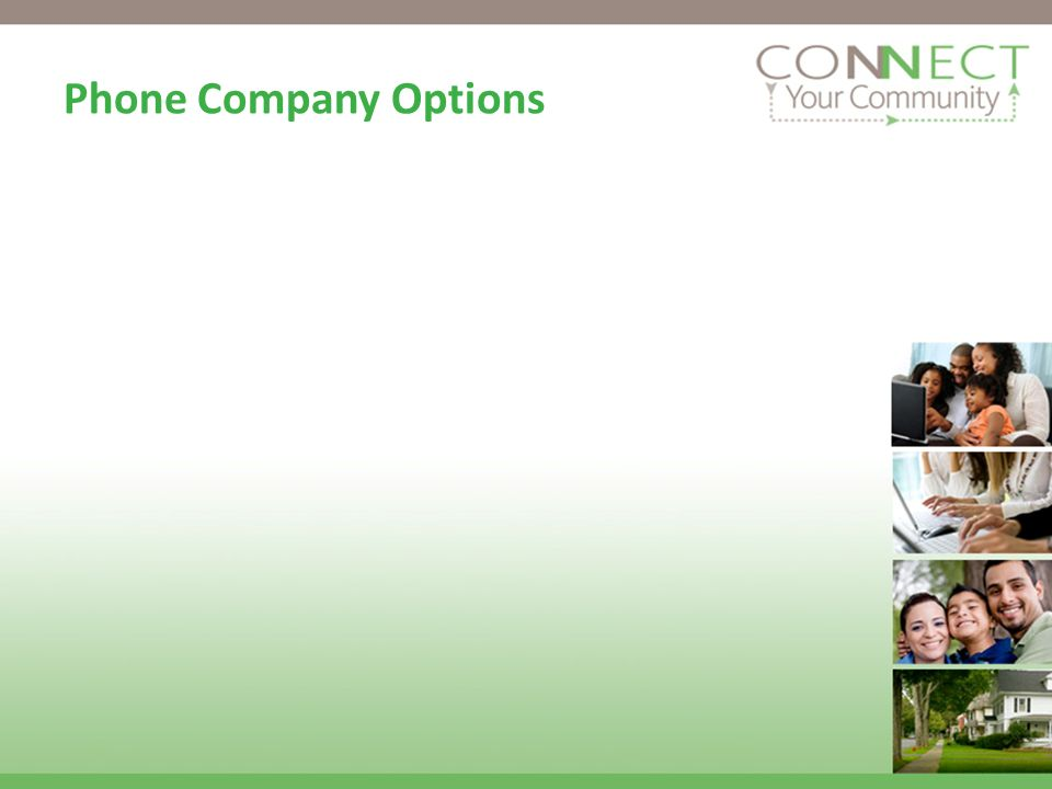 Phone Company Options