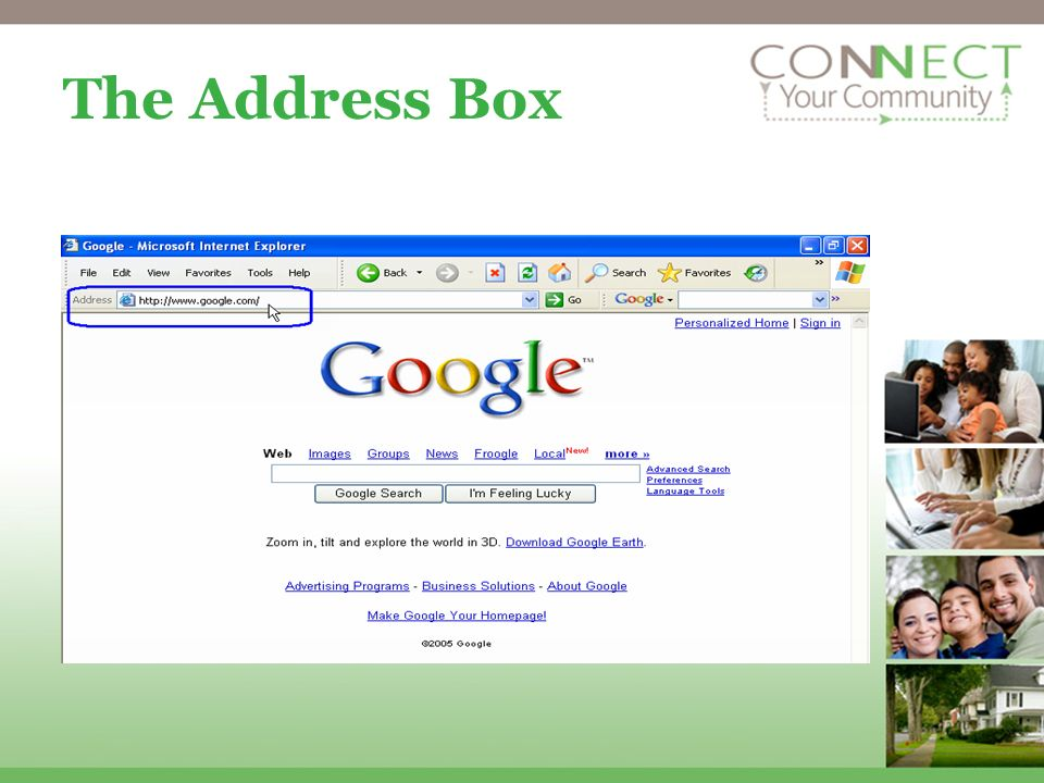 The Address Box