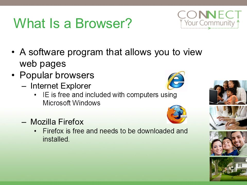 2 What Is a Browser.