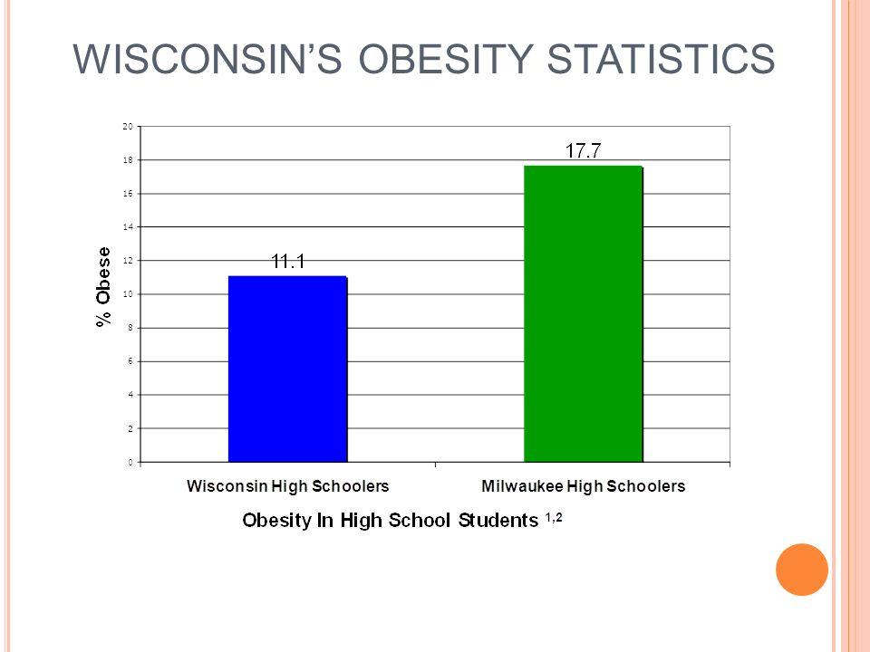 WISCONSINS OBESITY STATISTICS