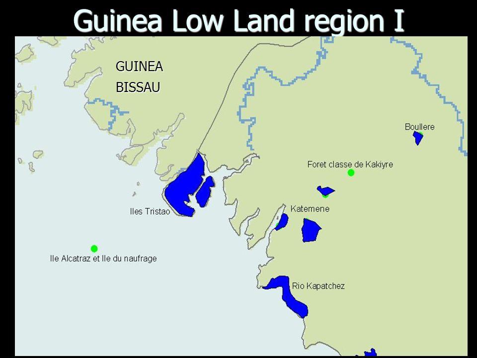 Guinea Low Land region I GUINEABISSAU