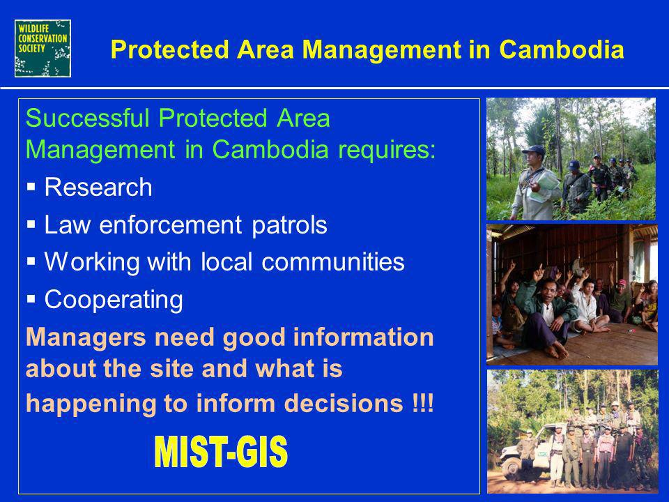 The Species Richness of Wildlife in Cambodia