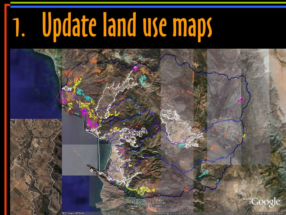 No 8 1.Update land use maps