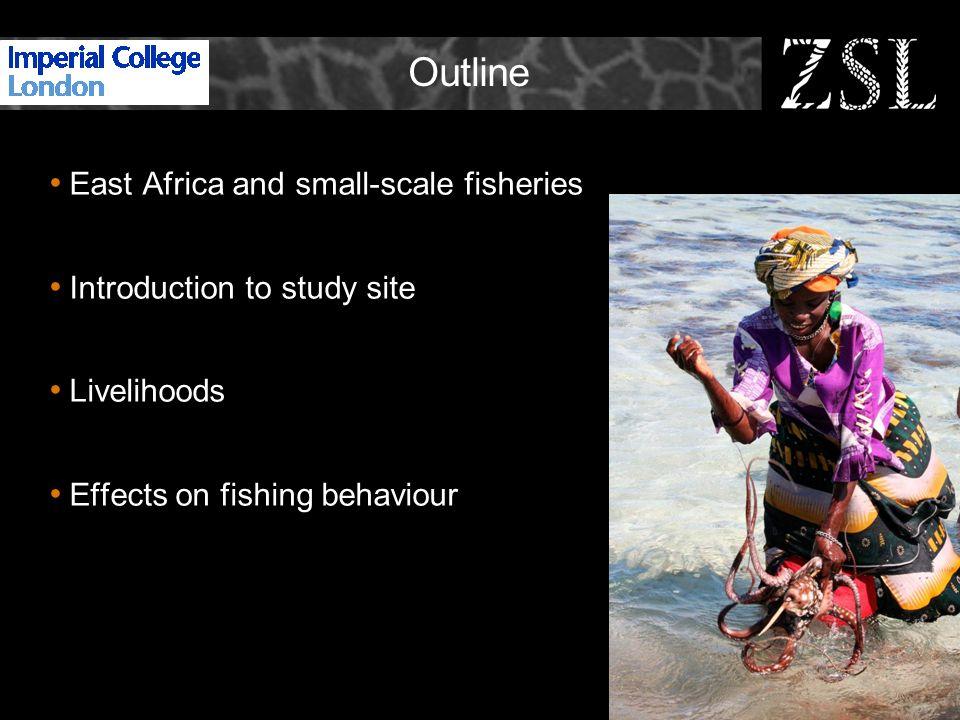 East Africa East Africa coastal population 22 million – 5-6% increase per annum Dependence on marine resources.