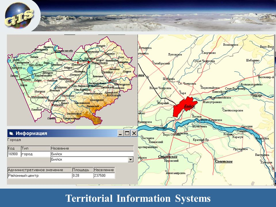 Territorial Information Systems