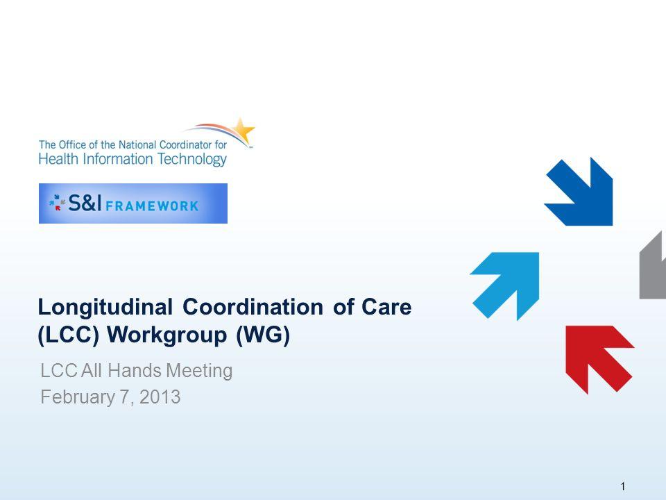 Agenda ONC S&I Updates Key Accomplishments of the WG & SWGs Use Case Working Session Next Steps 2