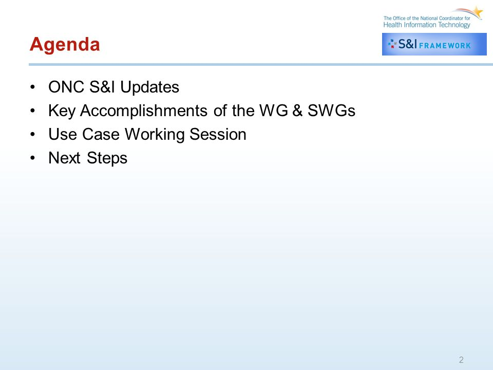 13 Next Steps Finalize S&I LCC WG Support Plan Update LCC Use Case with new Care Plan component definitions –Revise functional specifications Kick-off IMPACT/ASPE public private partnership for development of ToC and Care Plan/ HHPoC Implementation Guides