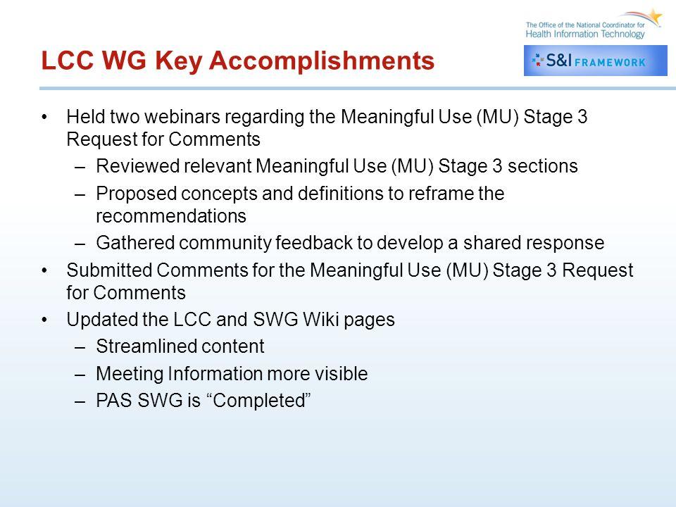 Wiki Re-Design http://wiki.siframework.org/Longitudinal+Coordination+of+Care+%28 LCC%29http://wiki.siframework.org/Longitudinal+Coordination+of+Care+%28 LCC%29
