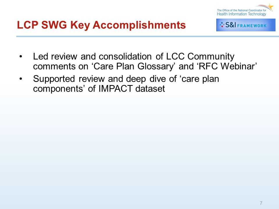 PAS SWG Key Accomplishments New website regarding transform tool: www.transform.keyhie.orgwww.transform.keyhie.org –Will be updated often as project unfolds –Currently able to see info on benefits and pricing –Sign up under take a test drive and you will be included in updates on project Aggressive launch schedule –Started pilots in mid-January with: –Presbyterian Senior Living (SNF) –Sun Home Health (HHA) –Will bring on Geisinger Beacon facilities in Mar/Apr –Anticipate full public launch in April Jim Younkins ONC presentation on project will be posted to wiki 8
