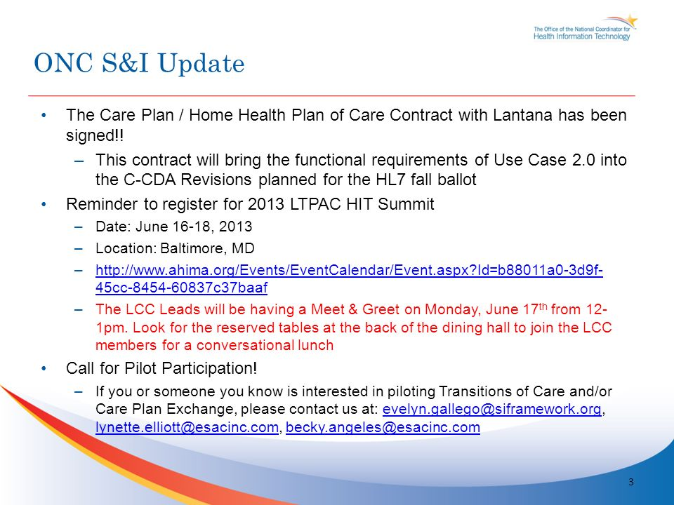 The Care Plan / Home Health Plan of Care Contract with Lantana has been signed!.