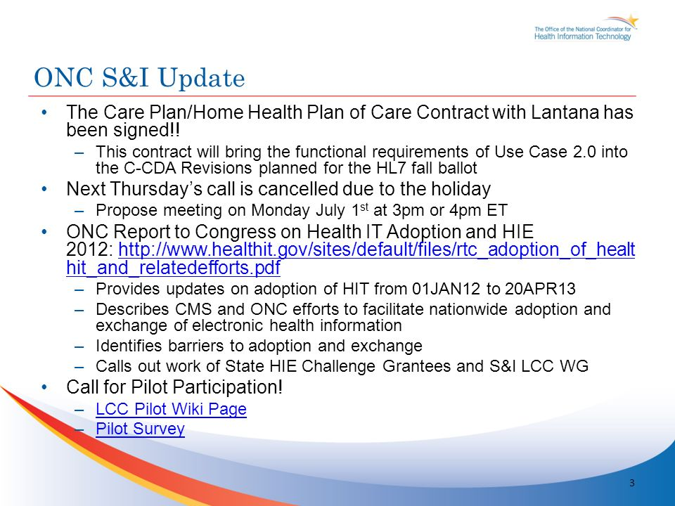 The Care Plan/Home Health Plan of Care Contract with Lantana has been signed!.
