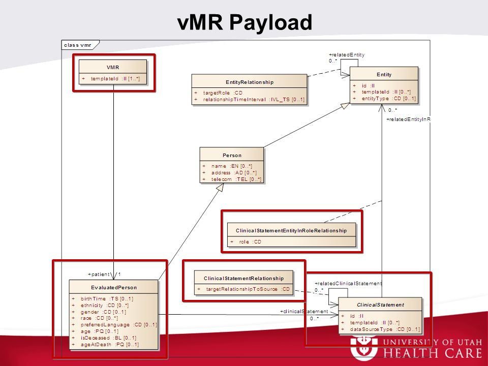 vMR Payload