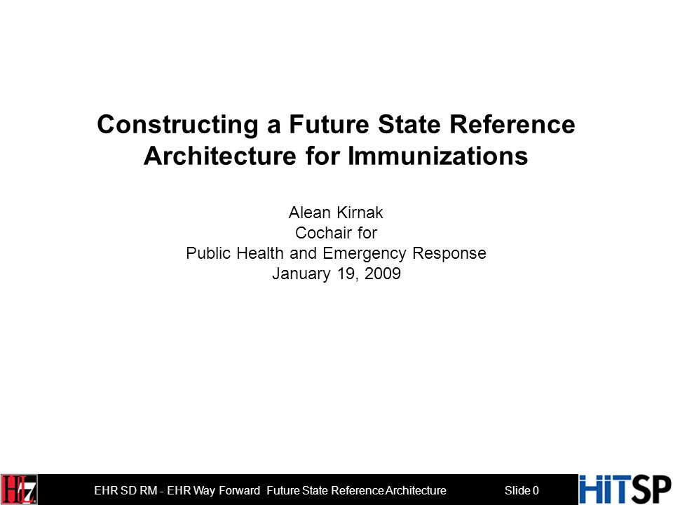 Slide 10 EHR SD RM - EHR Way Forward … Future State Reference Architecture Tethered Untethered Wireless devices … Growth of Personal Health Records 10 Copyright 2009 Software Partners