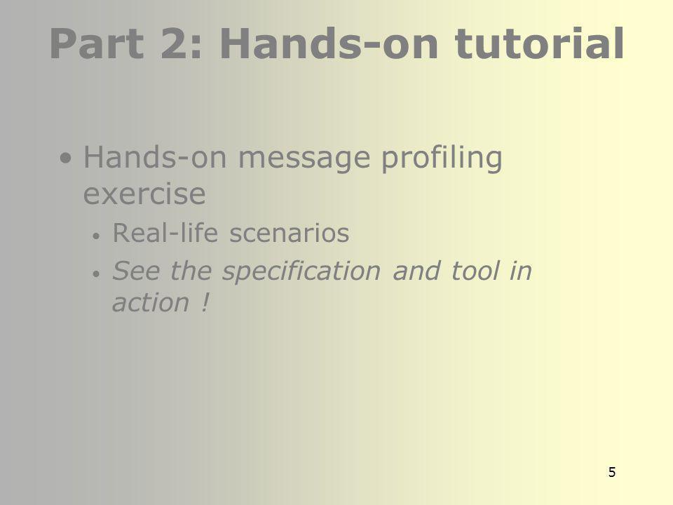 4 Part 1 : Conformance Concepts Overview of HL7 2.x Conformance Conformance Concepts Use case derived message profiles Ioana Singureanu Sample Conform