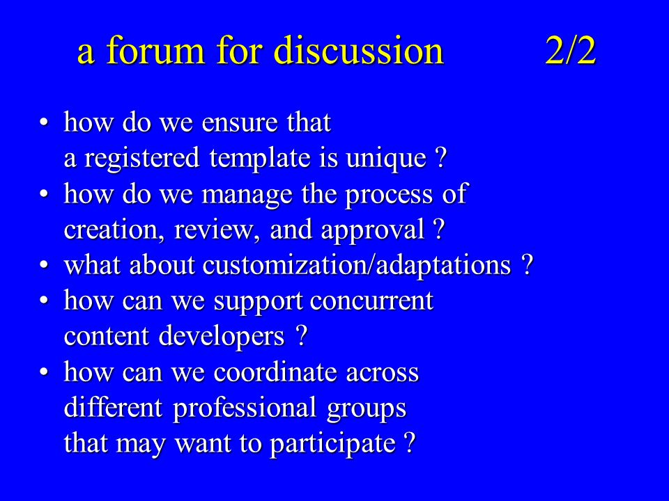 a forum for discussion2/2 how do we ensure that a registered template is unique how do we ensure that a registered template is unique .