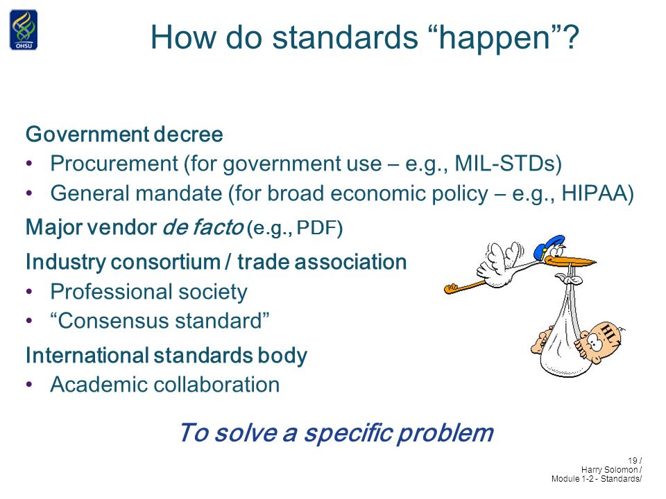 19 / Harry Solomon / Module 1-2 - Standards/ How do standards happen.